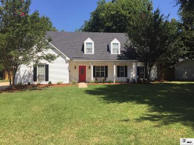 Monroe Single Family Home For Sale: 2607 Somer Lane
