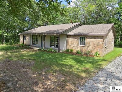 West Monroe Single Family Home New Listing: 216 Jones Lane