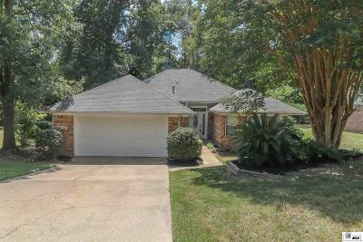 West Monroe Single Family Home New Listing: 304 Foxwood Drive