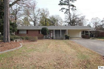 West Monroe Single Family Home New Listing: 105 Tensas Avenue