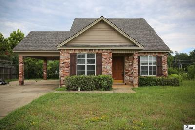 Lincoln Parish Single Family Home New Listing: 2410 Creekwood Drive