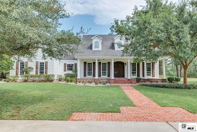 West Monroe Single Family Home New Listing: 335 Lea Drive