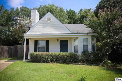 Lincoln Parish Single Family Home New Listing: 3927 Green Mountain Drive