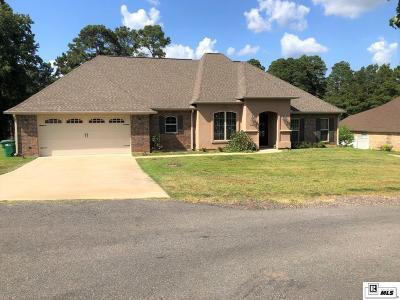 West Monroe Single Family Home New Listing: 3016 Arkansas Road