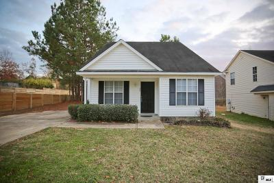 Ruston Single Family Home New Listing: 464 E Maryland Avenue