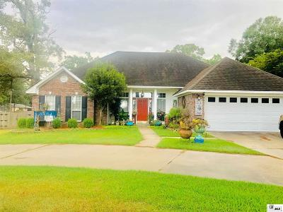 West Monroe Single Family Home New Listing: 905 Good Hope Road
