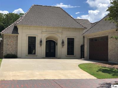 Monroe Single Family Home For Sale: 1413 Toulouse Drive