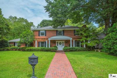 Monroe Single Family Home Active-Pending: 3019 River Oaks Drive
