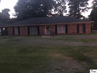 Monroe Single Family Home For Sale: 4105 Woodway Drive