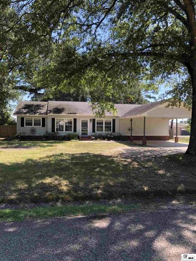 West Monroe Single Family Home For Sale: 2500 N 8th Street