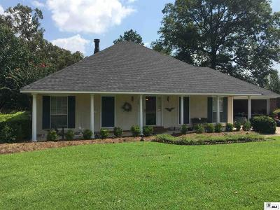 West Monroe Single Family Home New Listing: 123 Lake Powell Drive
