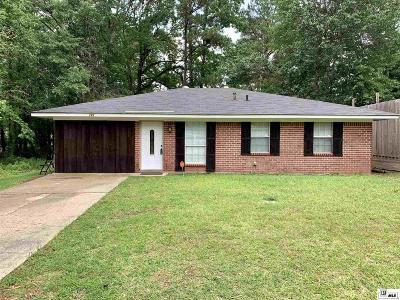 West Monroe Single Family Home New Listing: 121 Wilson Drive