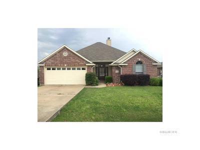 Benton Single Family Home For Sale: 4204 Parkridge Drive