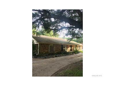 Bossier City Single Family Home For Sale: 2305 Brownlee Road