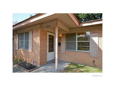 Shreveport LA Single Family Home For Sale: $109,900