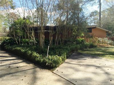 Shreveport Single Family Home For Sale: 7133 Gilbert Drive