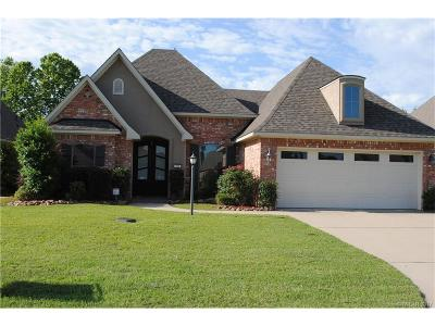 Haughton Single Family Home For Sale: 316 Wood Springs