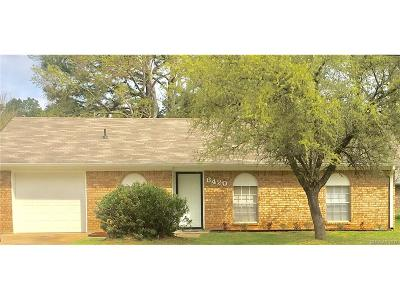 Shreveport Single Family Home For Sale: 6420 Jefferson Paige Road