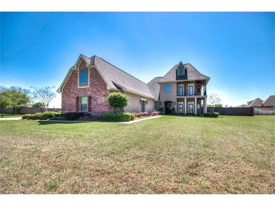 Bossier City Single Family Home Contingent: 2490 Vanceville Road