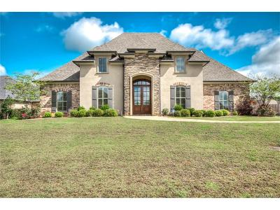 Haughton Single Family Home For Sale: 1811 Coldwater Creek
