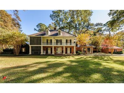 Shreveport Single Family Home For Sale: 636 Lake Forbing Drive