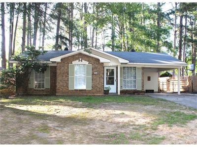 Shreveport Single Family Home For Sale: 9012 Villanova Drive