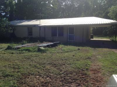 Benton Single Family Home For Sale: 16255 Highway 157
