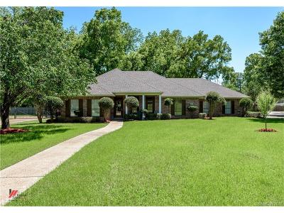 Shreveport Single Family Home Contingent: 1139 Carolyn Court