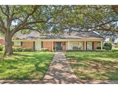 Bossier City Single Family Home For Sale: 2300 Arlington Place