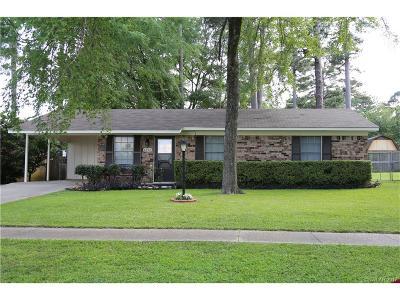 Shreveport Single Family Home For Sale: 8922 Bernay Drive