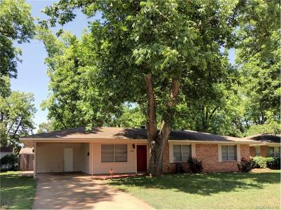 Bossier City Single Family Home For Sale: 1203 Pecan Lane