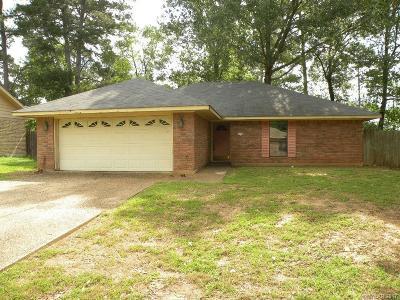 Shreveport LA Single Family Home For Sale: $69,900