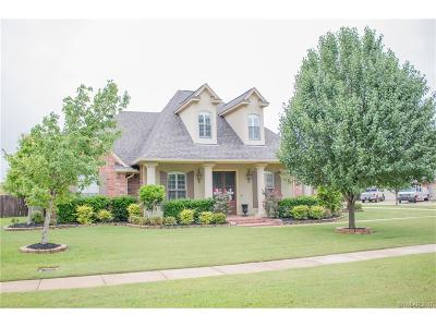 Bossier City Single Family Home Contingent: 507 Fall Winds