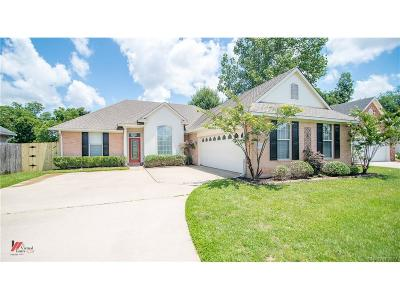 Bossier City Single Family Home For Sale: 106 Rosemont Place