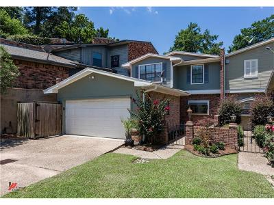 Shreveport Condo/Townhouse For Sale: 5759 Lakefront Drive