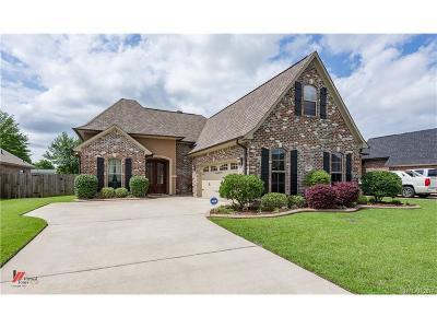 Bossier City Single Family Home Contingent: 508 Tupelo Drive