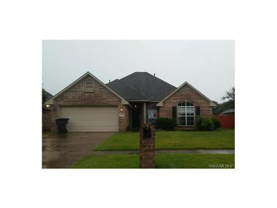 Bossier City Single Family Home For Sale: 6008 Whitney Drive