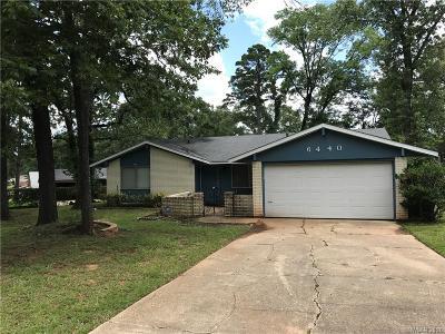 Shreveport Single Family Home For Sale: 6440 Dianne Street