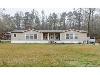 Haughton Single Family Home For Sale: 9651 Country Living Drive