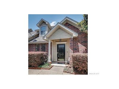 Bossier City Condo/Townhouse For Sale: 26 Meadow Creek Drive