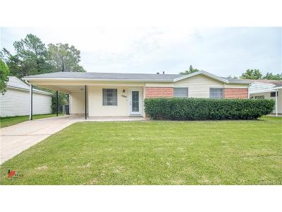 Bossier City Single Family Home For Sale: 1500 Anita Street