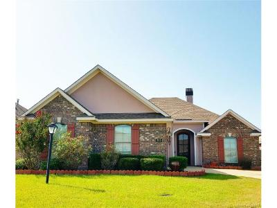 Haughton Single Family Home For Sale: 608 Aubrey Walk