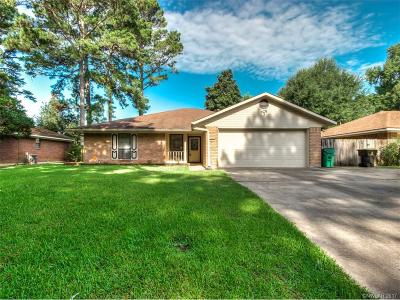 Haughton Single Family Home For Sale: 2635 Southcrest Drive