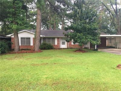 Benton Single Family Home For Sale: 207 Jackson Street
