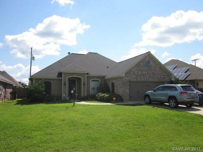 Haughton LA Single Family Home For Sale: $186,000
