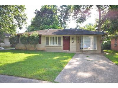 Bossier City Single Family Home For Sale: 4218 Helene Street
