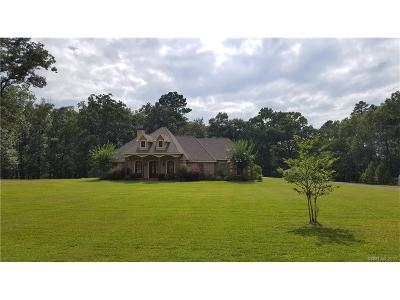 Haughton Single Family Home For Sale: 3 Leaning Tree Drive
