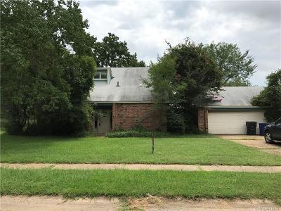 Shreveport LA Single Family Home For Sale: $70,000