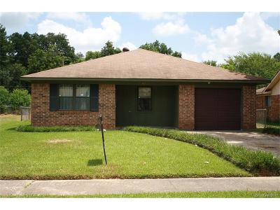Bossier City Single Family Home For Sale: 4927 Laurel Lane