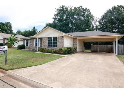 Haughton Single Family Home For Sale: 7524 Oaktree Lane